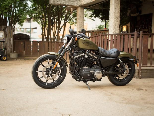 Harley-Davidson 883 Iron (Foto: Divulgação)