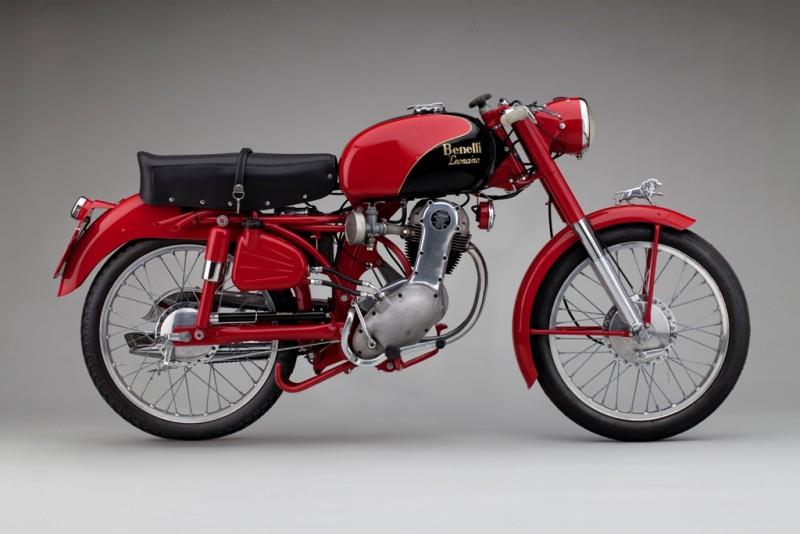 Modelo da década de 50 que serviu de inspiração para a nova Leoncino - Foto: Silodrome.com
