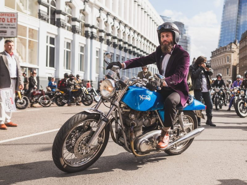 Triumph – Distinguished Gentleman's Ride