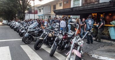 Steel Bar, o point dos motociclistas em Moema