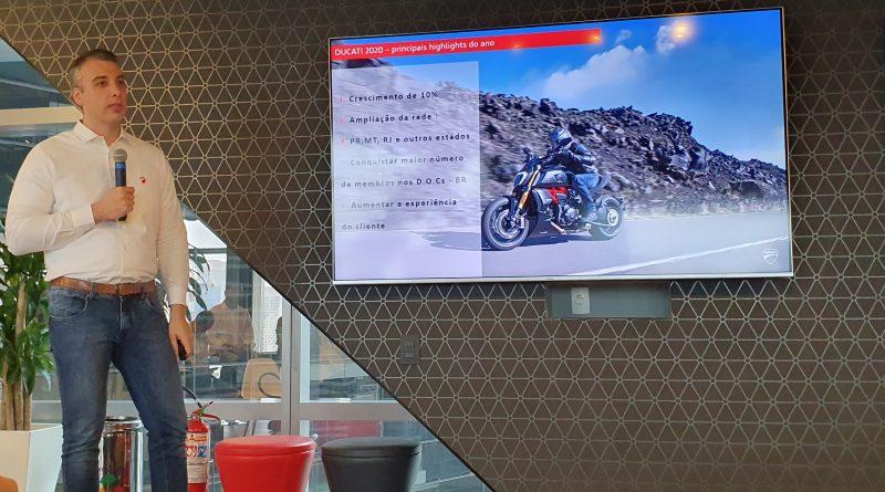 Ducati planeja crescimento no Brasil e lança serviço de garantia estendida que pode chegar a 5 anos
