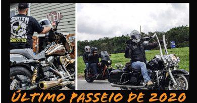 Encerrando 2020 com passeio de moto!